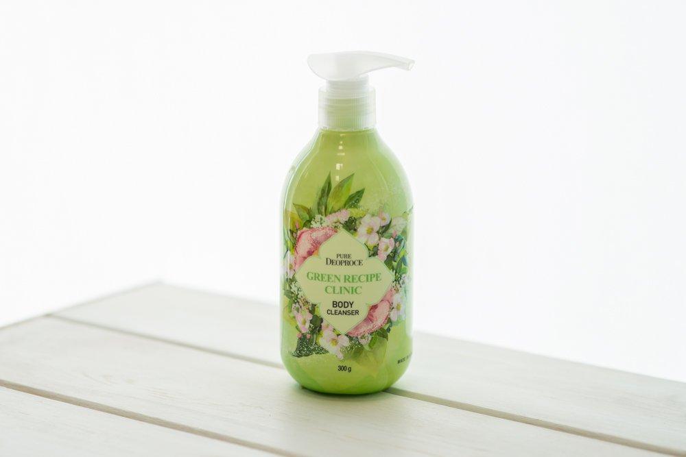 Купить Гель для душа очищающий Зеленый рецепт PURE DEOPROCE GREEN RECIPE CLINIC BODY CLEANSER 300g