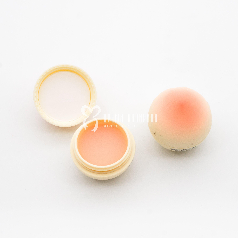 Купить Бальзам для губ Персик увлажняющий TONY MOLY MINI PEACH LIP BALM 7ml