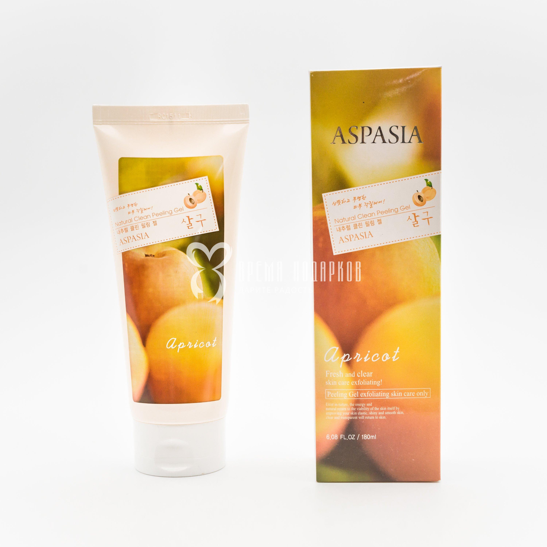 Гель-скатка для лица абрикос - свежесть и чистота ASPASIA APRICOT FRESH AND CLEAR SKIN CARE, 180 мл фото