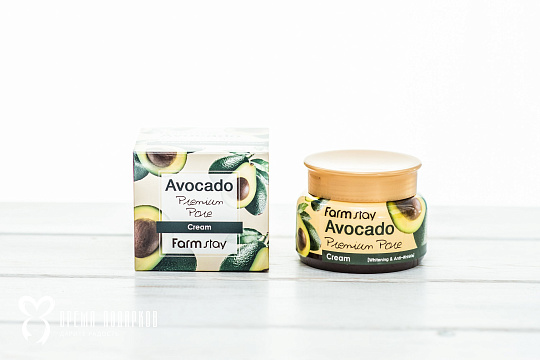 Лифтинг крем с экстрактом авокадо FARMSTAY AVOCADO PREMIUM PORE CREAM 100ml Картинка №21